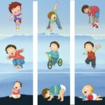 Different Activities of Gross Motor Skills